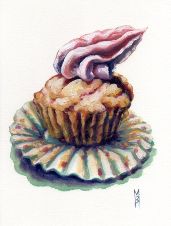 Shocktop Cupcake